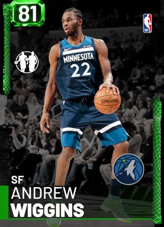 Andrew Wiggins emerald card