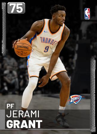 Jerami Grant silver card