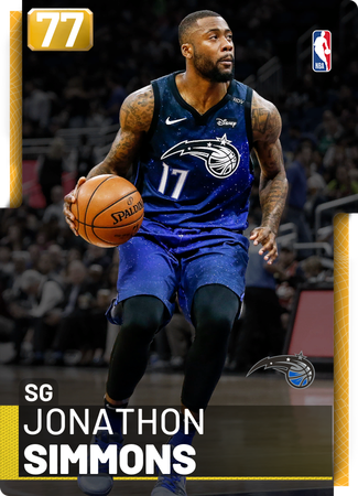 Jonathon Simmons gold card
