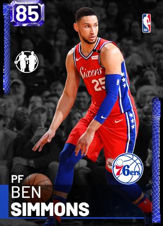 Ben Simmons sapphire card
