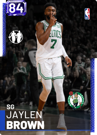 Jaylen Brown sapphire card
