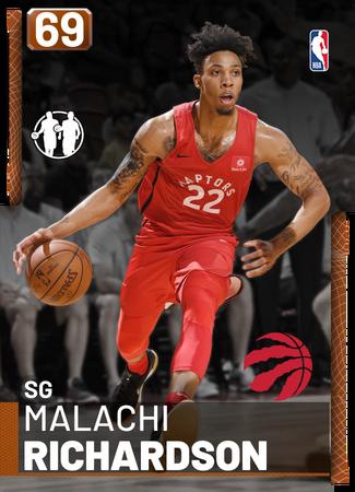 Malachi Richardson bronze card