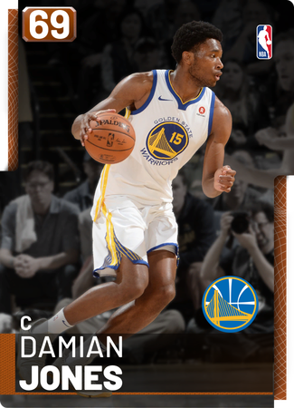 Damian Jones bronze card