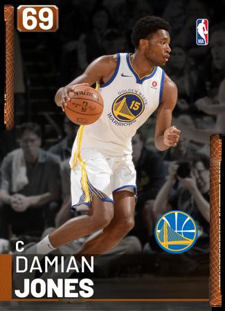Damian Jones bronze card