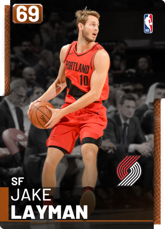 Jake Layman bronze card