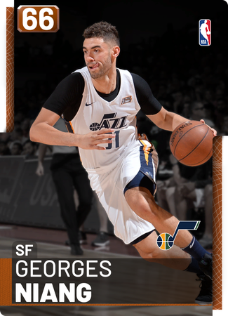 Georges Niang bronze card