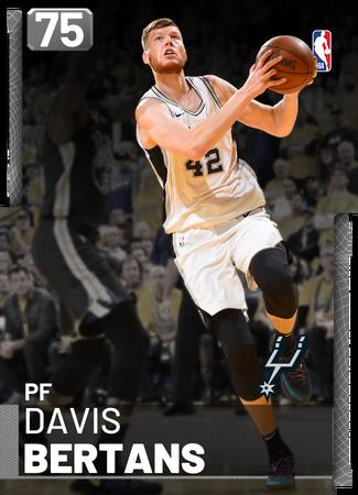 Davis Bertans silver card