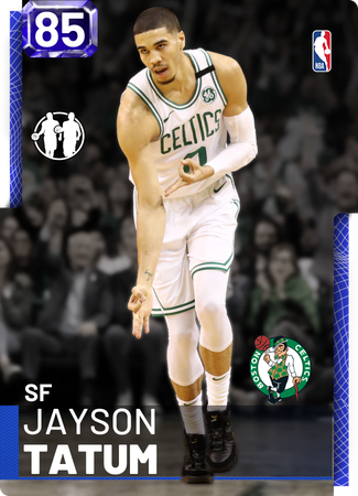 Jayson Tatum sapphire card