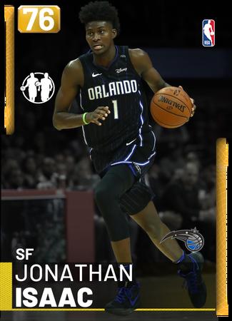 Jonathan Isaac gold card