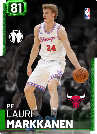 Lauri Markkanen emerald card