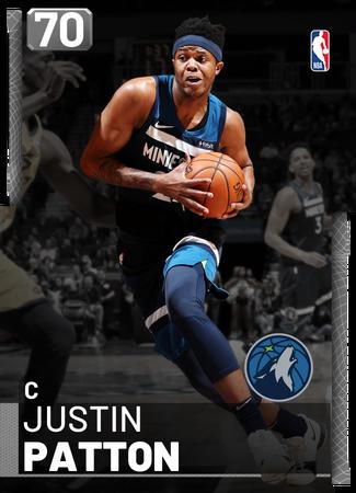 Justin Patton silver card
