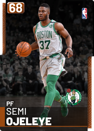 Semi Ojeleye bronze card