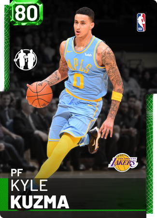 Kyle Kuzma emerald card