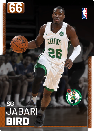 Jabari Bird bronze card