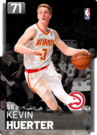Kevin Huerter silver card