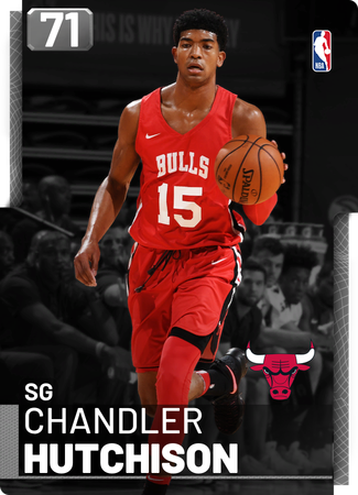 Chandler Hutchison silver card