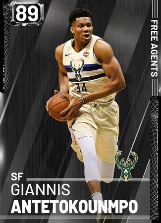 Giannis Antetokounmpo onyx card
