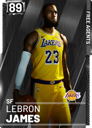 LeBron James onyx card