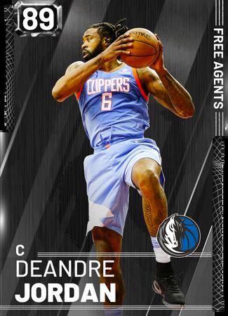 DeAndre Jordan onyx card