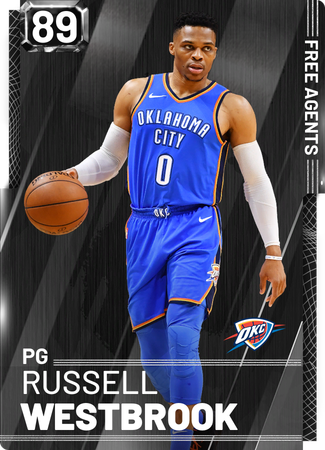 Russell Westbrook onyx card