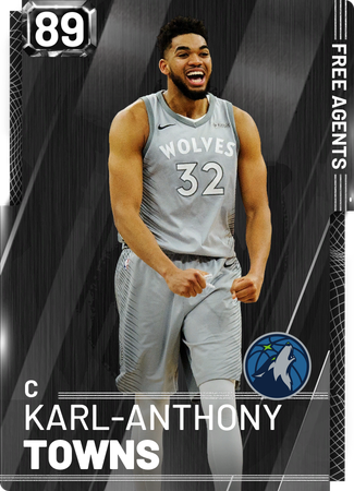 Karl-Anthony Towns onyx card