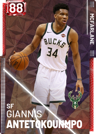 Giannis Antetokounmpo ruby card