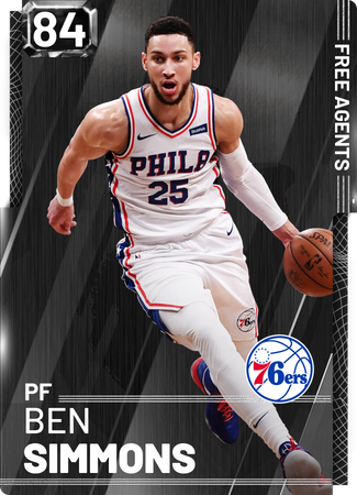 Ben Simmons onyx card