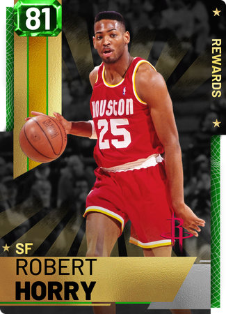 '95 Robert Horry emerald card