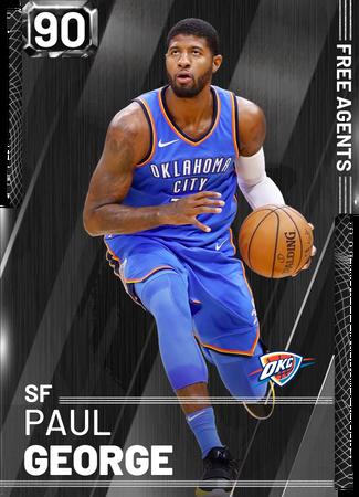 Paul George onyx card