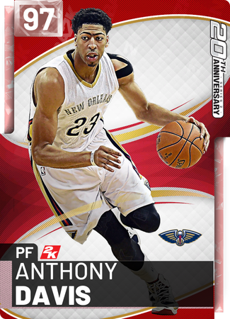 Anthony Davis pinkdiamond card