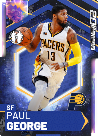 Paul George opal card
