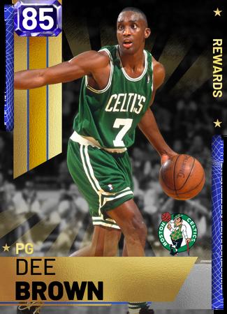 '00 Dee Brown sapphire card
