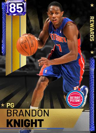 Brandon Knight sapphire card