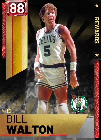 '87 Bill Walton ruby card