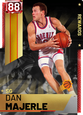 '02 Dan Majerle ruby card