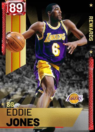 '08 Eddie Jones ruby card