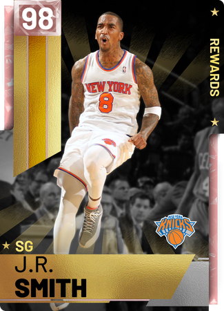 '18 J.R. Smith pinkdiamond card