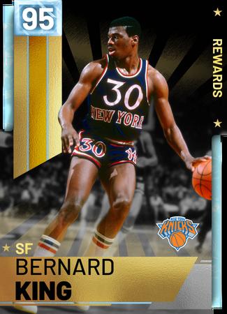 '81 Bernard King diamond card