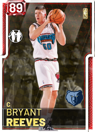 Bryant Reeves ruby card
