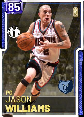 '11 Jason Williams sapphire card