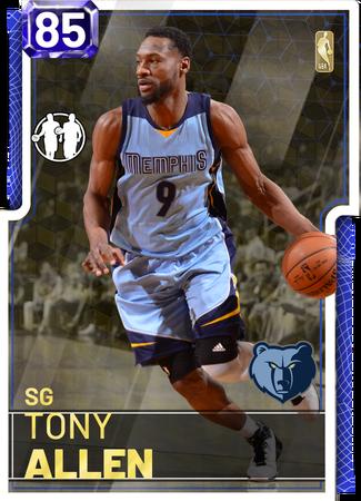 '18 Tony Allen sapphire card