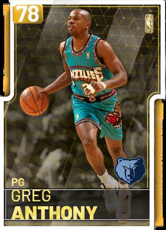 '02 Greg Anthony gold card