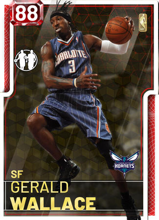 '09 Gerald Wallace ruby card
