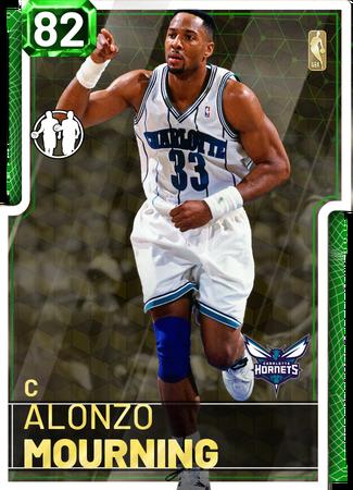 '93 Alonzo Mourning emerald card