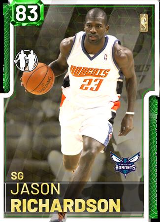 '15 Jason Richardson emerald card