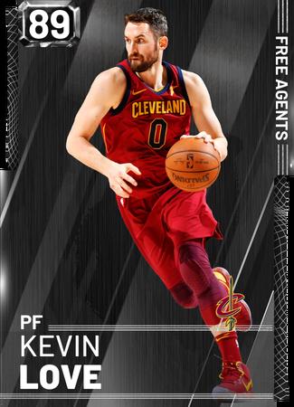 Kevin Love onyx card