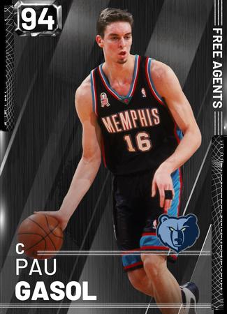 '18 Pau Gasol onyx card