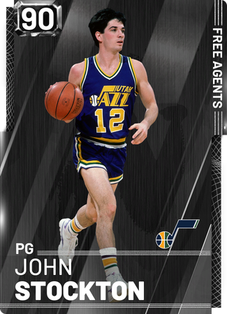 '98 John Stockton onyx card