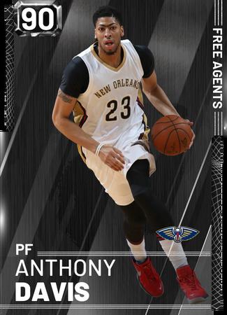 Anthony Davis onyx card