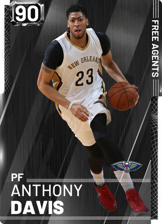 Anthony Davis onyx card